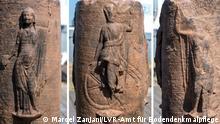 Fund I Römische Säule mit seltener Gottheit I Mannheim