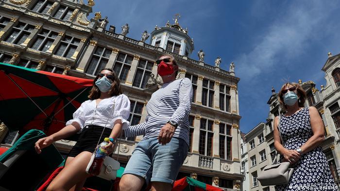 Bruksela stała się obszarem ryzyka (Reuters/Y. Herman)