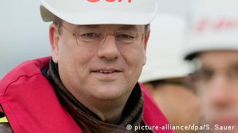 Frank Kracht, alcalde de Sassnitz, Alemania.