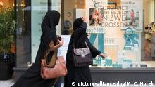 Deutschland Symbolbild arabische Touristen in München