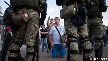Minsk Proteste Wahlbetrug Polizei Demonstranten