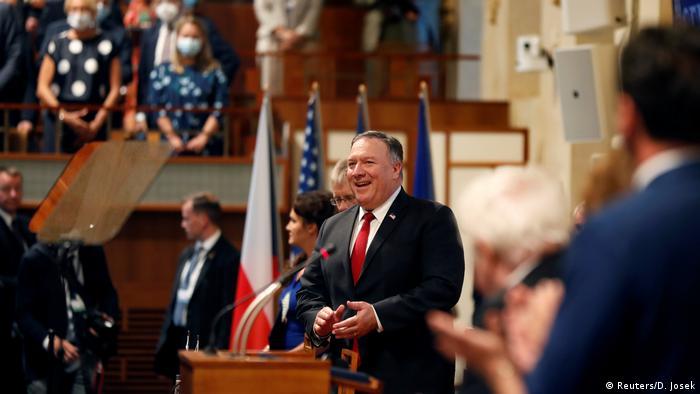 Tschechien US-Außenminister Mike Pompeo besucht Prag (Reuters/D. Josek)