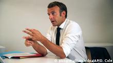 Frankreich Präsident Emmanuel Macron