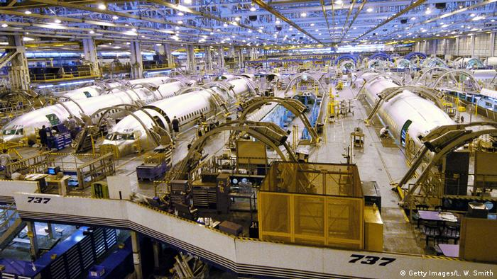 Liegt hier das Problem? Eine Produktionsstätte von Boeing, hier in Wichita, Kansas