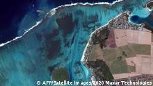 Ölpest auf Mauritius