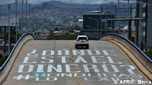 Honduras Tegucigalpa Protest gegen Korruption