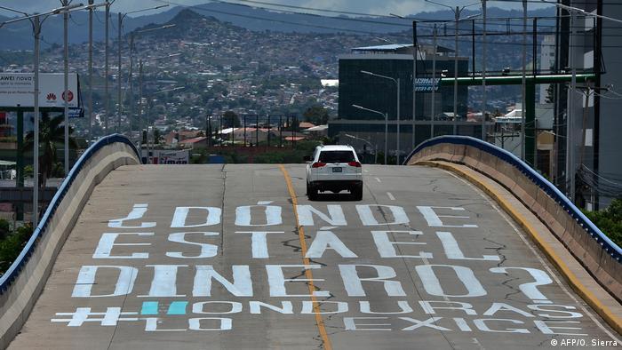 Foto de grafiti en Tegucigalpa