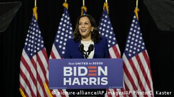 USA Wahlen Kamala Harris (picture-alliance/AP Images/AP Photo/C. Kaster)