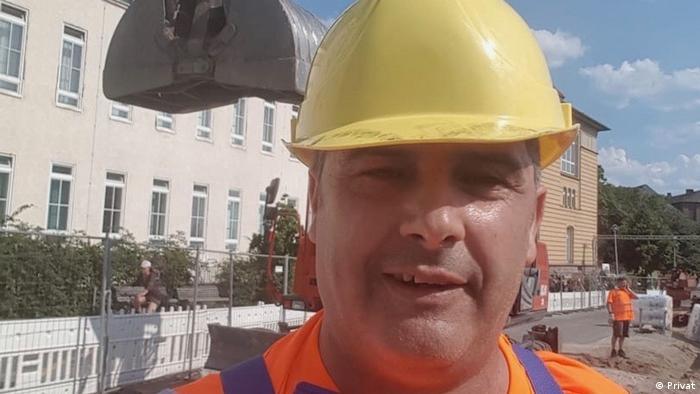 Мохаммад на стройплощадке, 2019 год