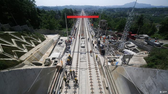 China erweitert Eisenbahnnetz