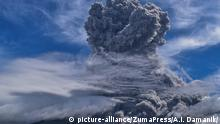 Indonesien Vulkan Mount Sinabung