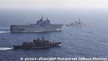 Griechenland | Türkei | Konflikt um Machtansprüche im östlichen Mittelmeer