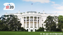 DW US Wahl 2020 Keyvisual White House (imago stock&people)