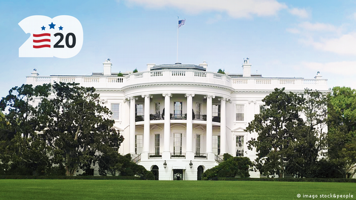 DW US Wahl 2020 Keyvisual White House