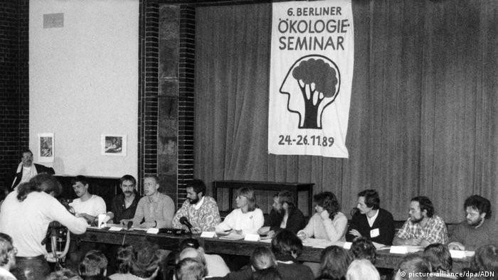 Deutschland | Grüne Partei der DDR (picture-alliance/dpa/ADN)