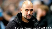 Pep Guardiola- Traîner Manchester City (picture-alliance/empics/PA Wire/M. Rickett)
