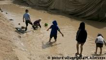 Kinder im Camp Al-Hol Camp in Nord Syrien