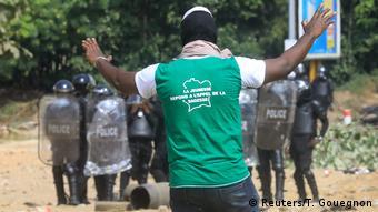 Des heurts ont eu lieu entre la police et les manifestants