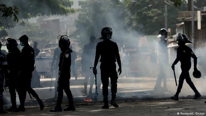 Elfenbeinküste I Ausschreitungen in Abidjan (Reuters/L. Gnago)