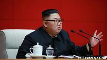 Nordkorea I Staatschef Kim Jong Un nimmt an Sitzung des Zentralkomitees der Arbeiterpartei teil