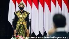 Indonesien I Joko Widodo bei der Jahresversammlung