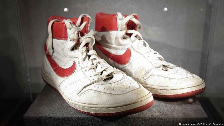 Michael Jordan's sneakers sell for record $615,000