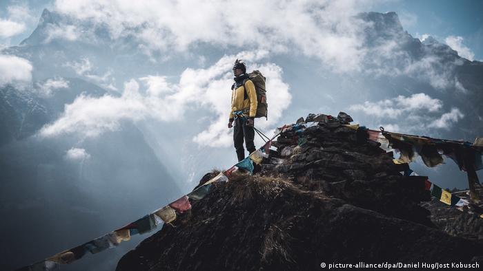 Bergsteiger Jost Kobusch in Nepal
