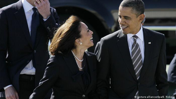 USA Barack Obama und Kamala Harris