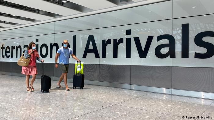 UK Symbolbild Tourismus Flughafen