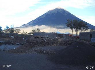 O Pico do Fogo é um vulcão ainda ativo