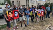 Ukraine Aktion der Unterstützung des Autors von einem Buch Akte Vasyl Stus