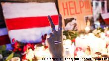 Polen Krakau | Solidarität mit Opposition in Belarus