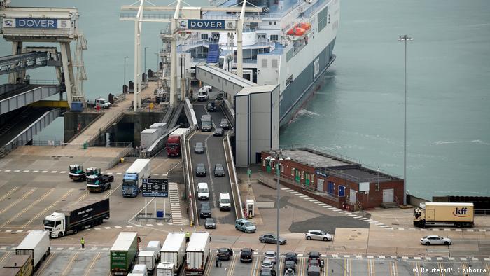 """""""Brama do Anglii"""" - port Dover czeka w razie braku umowy handlowej całkowity paraliż"""