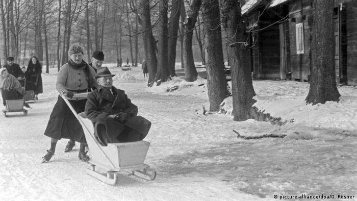 Шпревальд зимой
