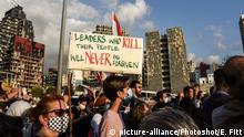 Libanon | Proteste gegen die Regierung in Beirut