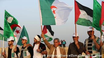 Διαδηλώσεις στη Λωρίδα της Γάζας μετά τη συμφωνία