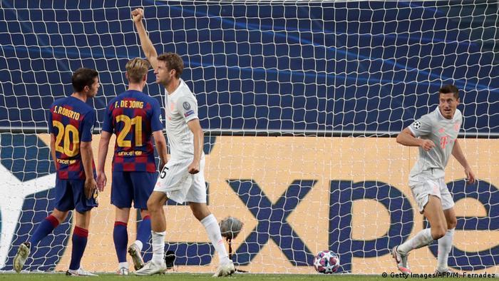 Champions League Barcelona Bayern München Tor Müller 4:1