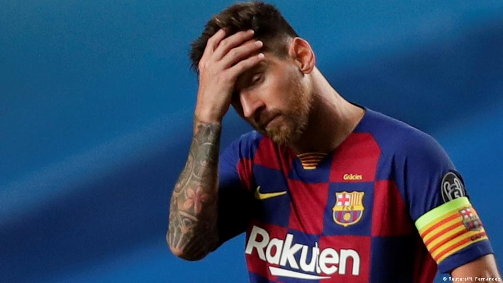 Lionel Messi to leave FC Barcelona, says club   News   DW   05.08.2021