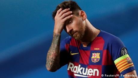 Champions League | Viertelfinale | FC Barcelona vs. Bayern München - ENDSTAND (Reuters/M. Fernandez)