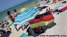İspanya'da tatil yapan Almanlar