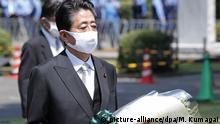 Japan gedenkt Kriegsende vor 75 Jahren | Ministerpräsident Abe