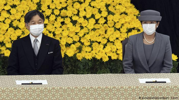Emperor Naruhito and Empress Masako mark the 75th anniversary of Japan's surrender