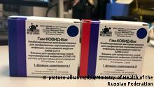Russland Coronavirus Impfstoff