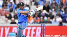 Grossbritannien Manchester | Cricketspieler | MS Dhoni beendet Karriere