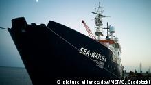 Seenotrettungsschiff «Sea-Watch 4» startet zum ersten Einsatz vor Libyen