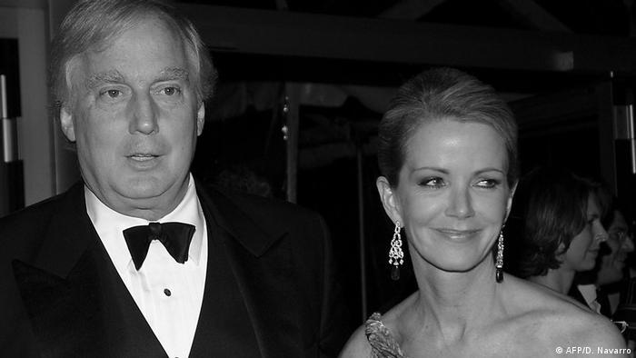 Роберт Трамп и его супруга Блейн в 2005 году