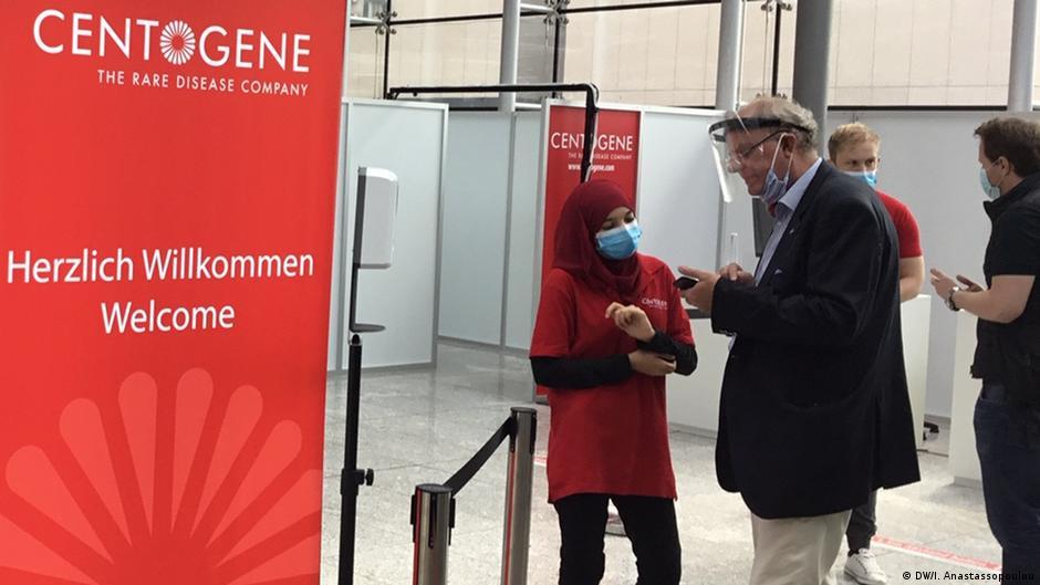 Deutschland Corona-Test Flughafen Frankfurt | Centogene