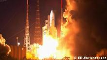 Ariane-5-Start EBU Kourou