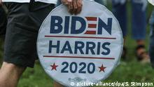 Joe Biden und Kamala Harris USA Wahlen 2020