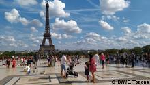 Frankreich Proteste gegen Präsidenten West - und Zentralafrikanischen Ländern